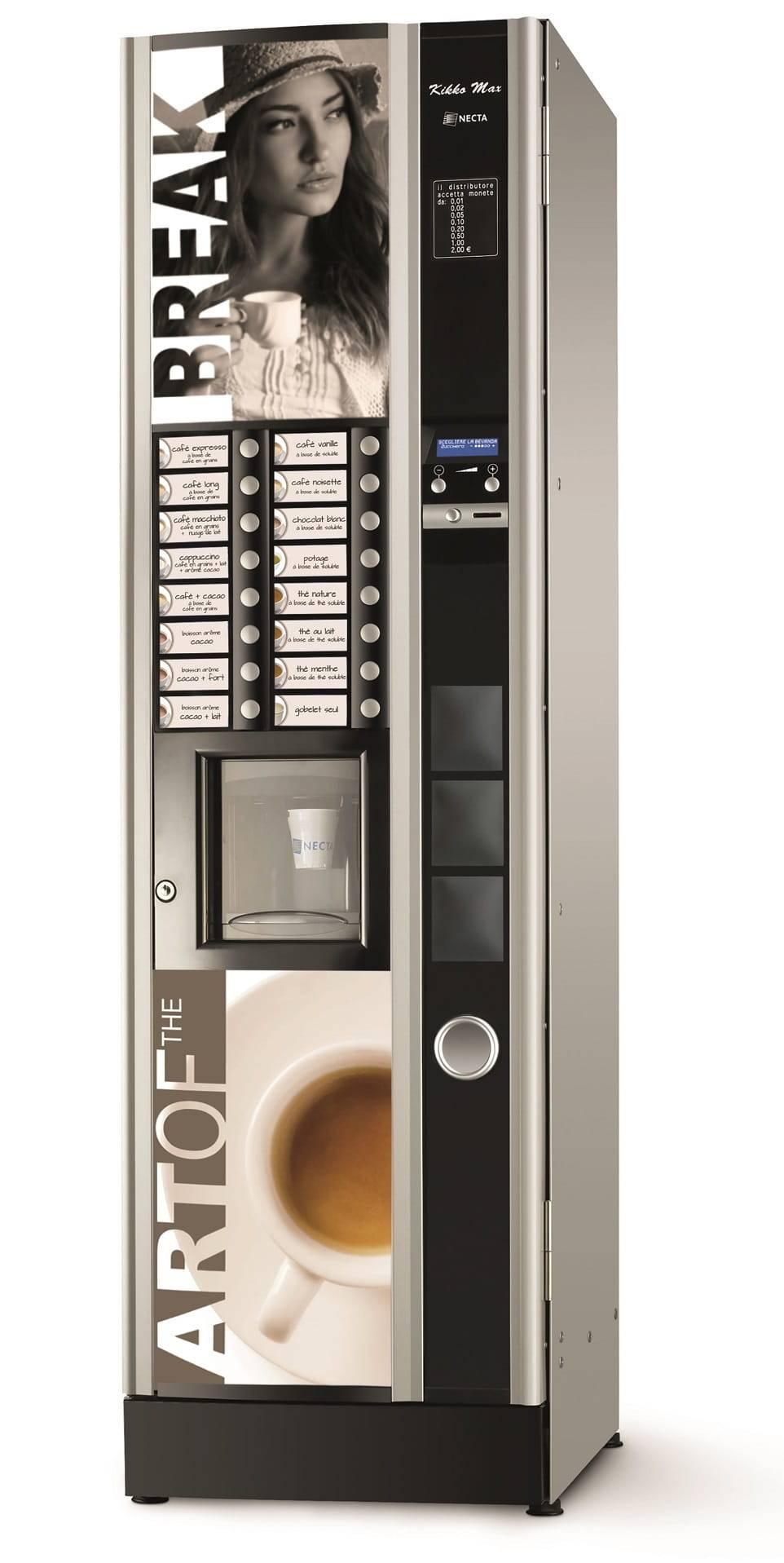 Как выбрать кофейный аппарат для начала вендингового бизнеса?