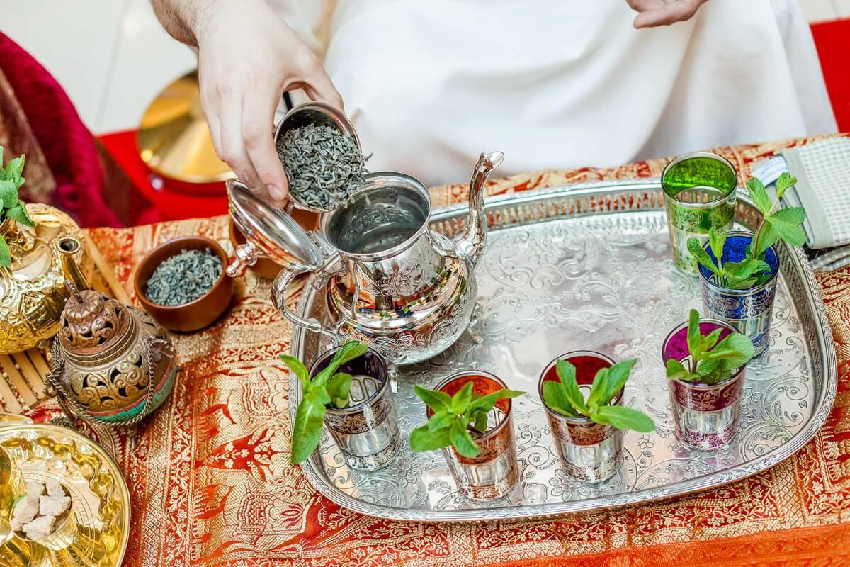 Марокканский чай — состав и рецепты освежающего напитка | chay guru | яндекс дзен
