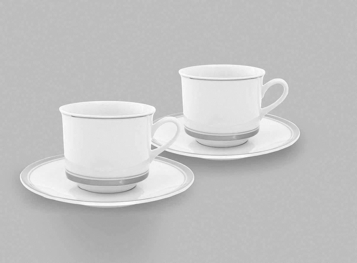 Белая кружка – особенности изделий из фарфора, фаянса, стеклокерамики и пластика