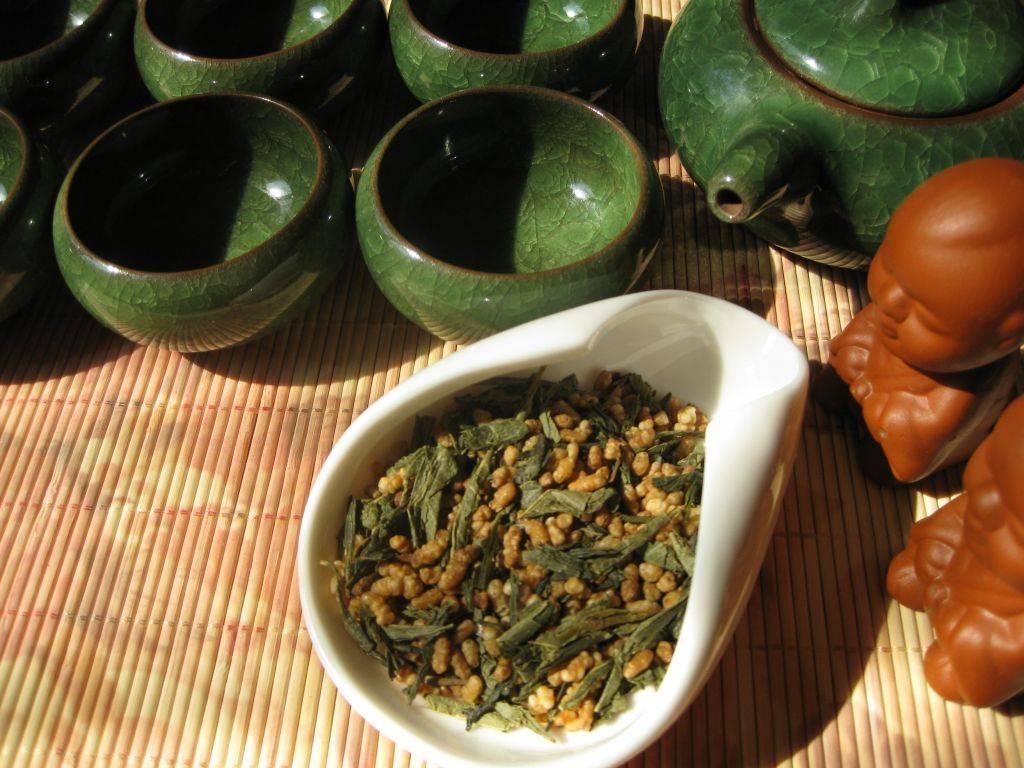Японский и корейский вариант рисового чая