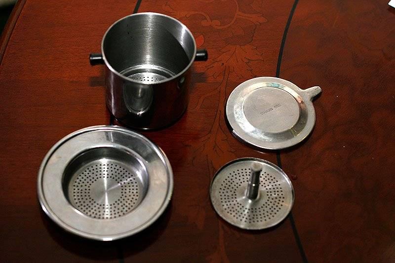 Вьетнамская чашка для заваривания кофе как называется