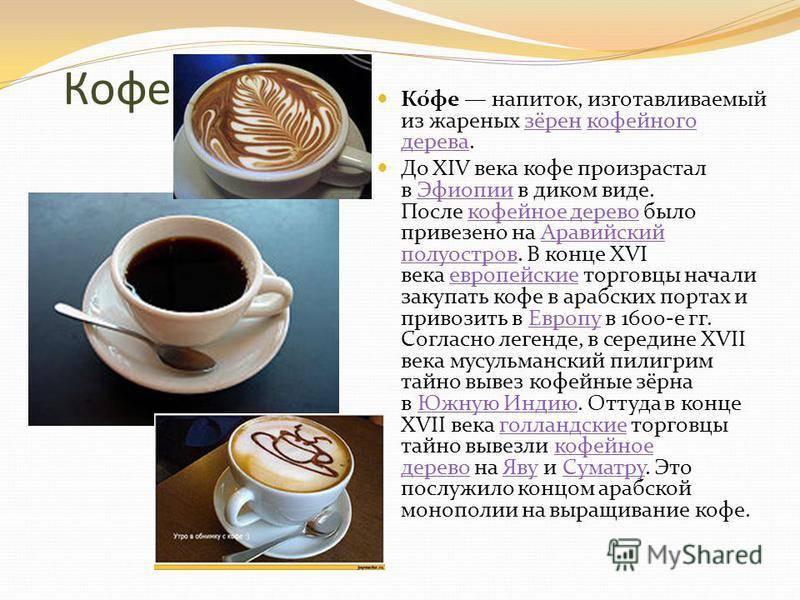 Кофе какого рода: он или оно, как правильно в русском языке, полный разбор слова