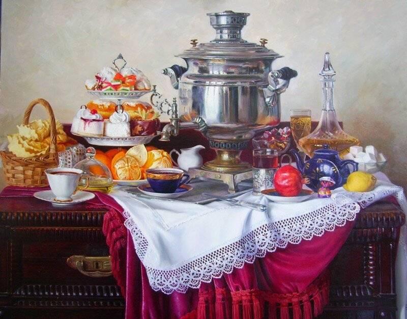 Русское чаепитие: традиций и история чая в россии