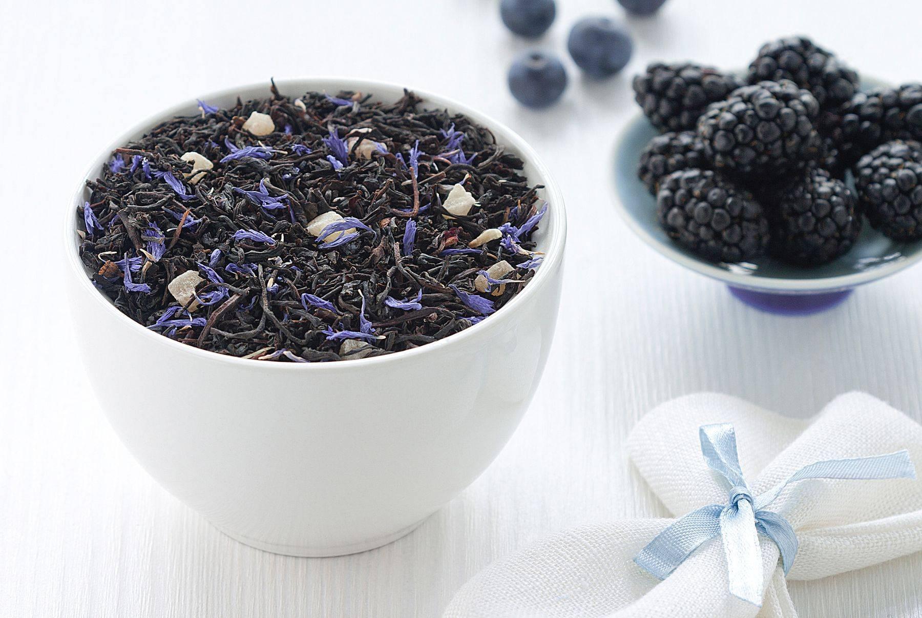 Рецепты чая с ягодами и листьями ежевики и его свойства