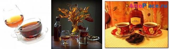 Неизменный атрибут современного аристократа. чай с коньяком: польза и вред