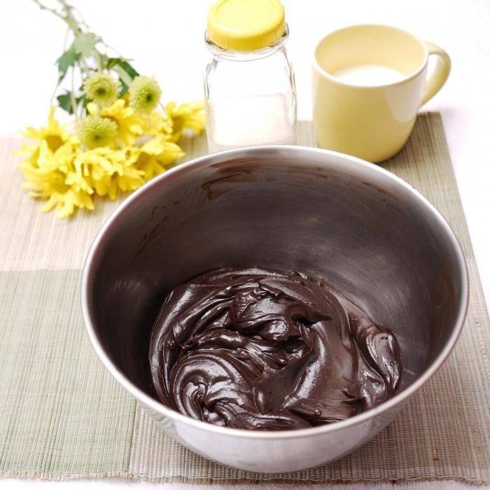 Как сделать шоколадный крем из какао порошка для торта