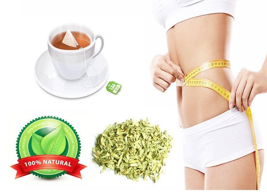 Такой разный чай для похудения