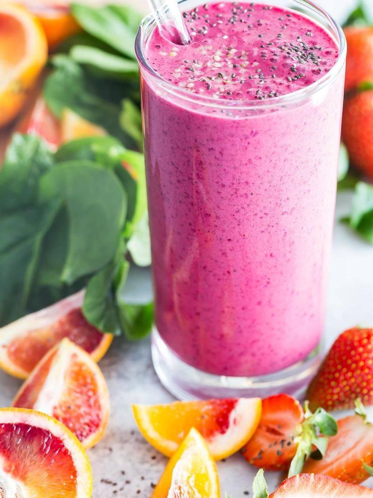 Смузи с грейпфрутом и бананом: смузи с грейпфрутом – рецепты напитка стройности – грейпфруты розовые, бананы, йогурт натуральный