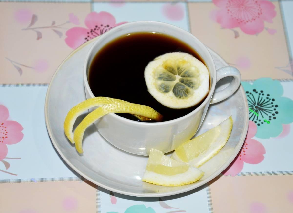 Кофе с лимоном: польза и вред, рецепт приготовления