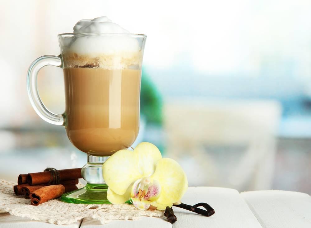 Ванильный кофе: рецепт с ванильным сиропом, сахаром