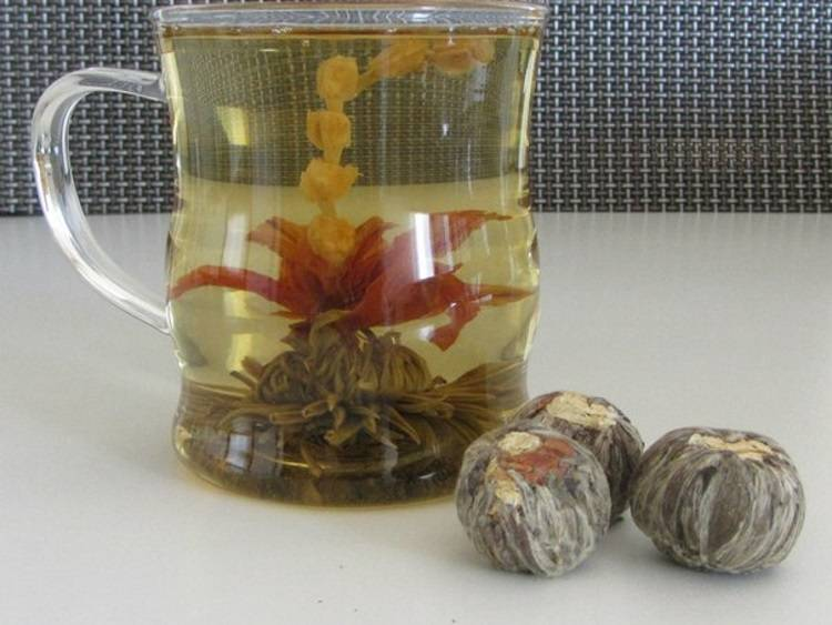 Связанный чай китайский