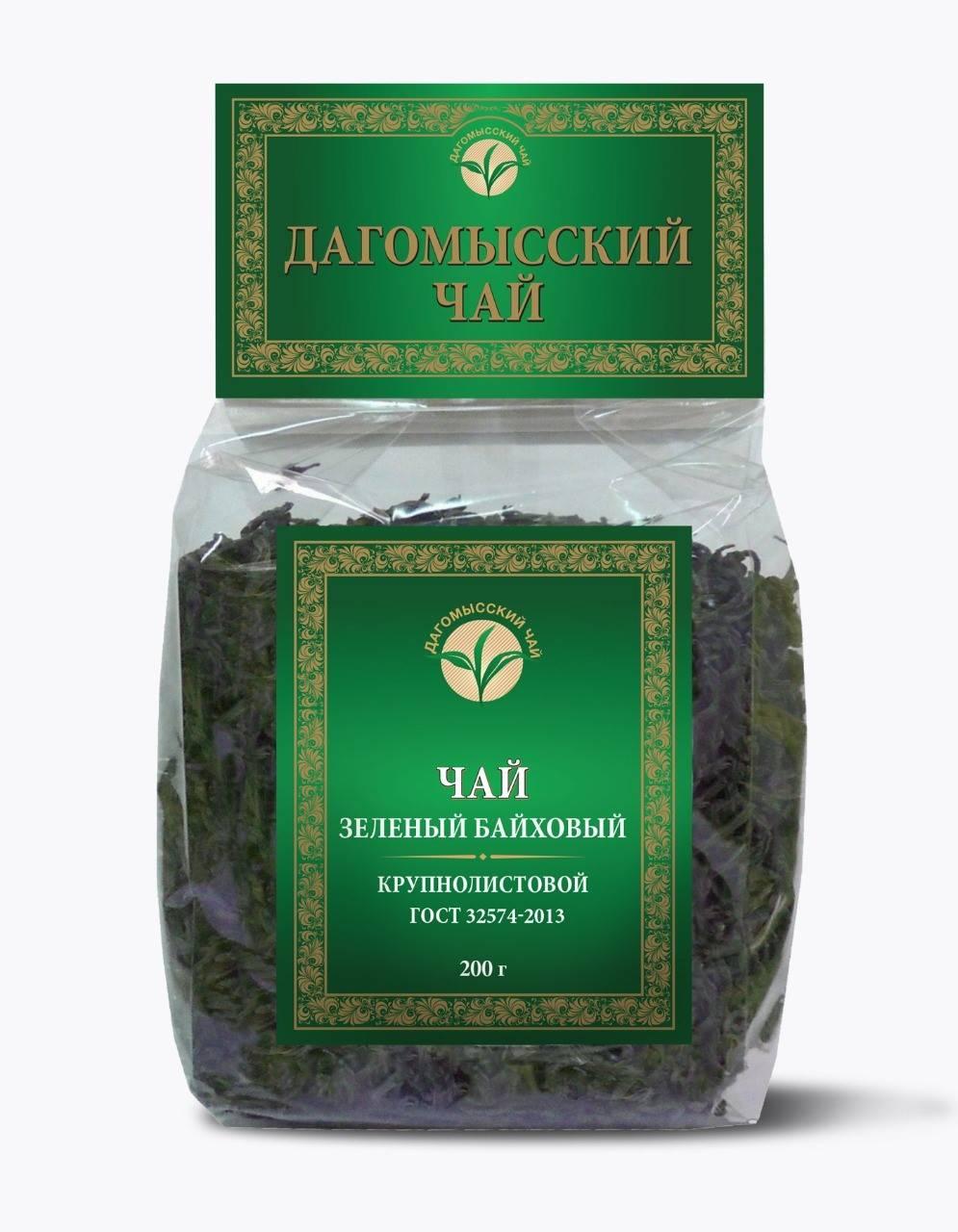 Зеленый байховый чай: польза и вред, виды, изготовители