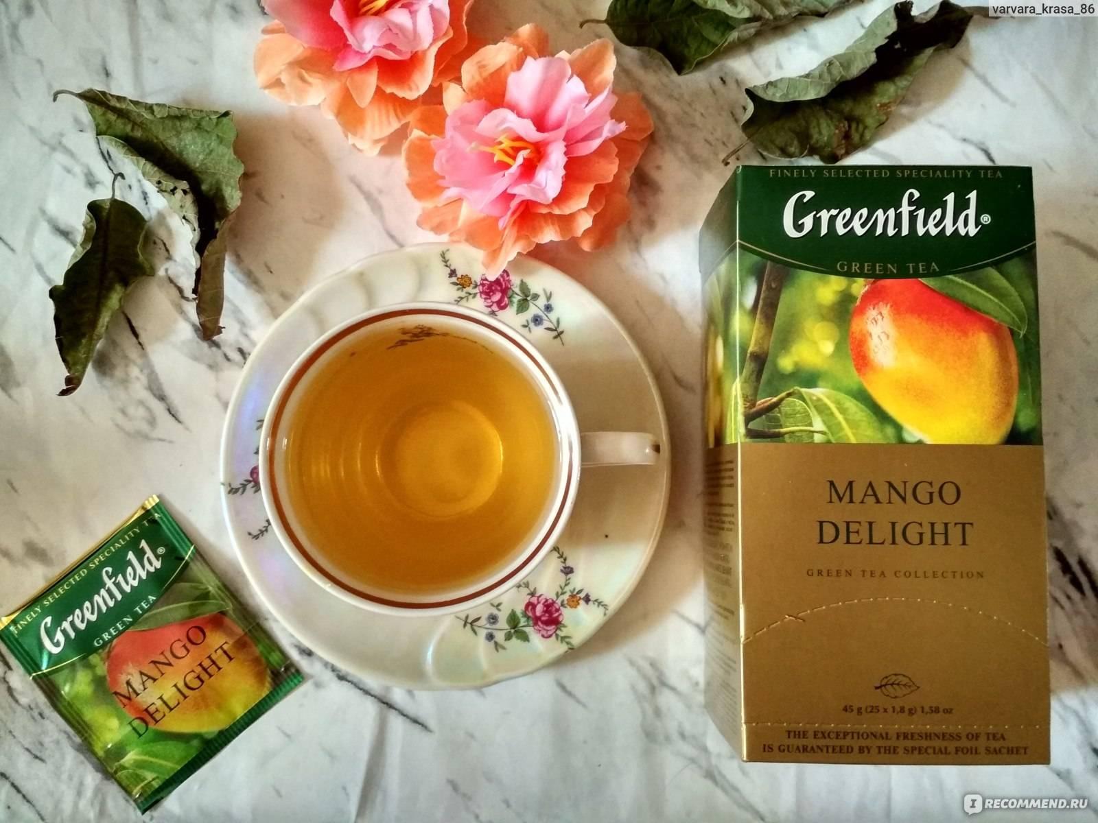 Чай с манго: рецепт с фото