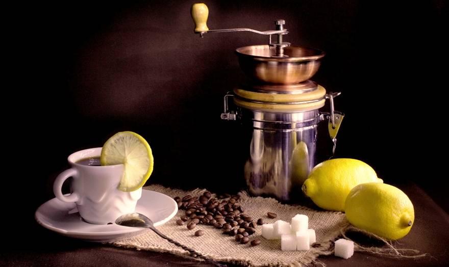 Кофе с лимоном: польза и вред