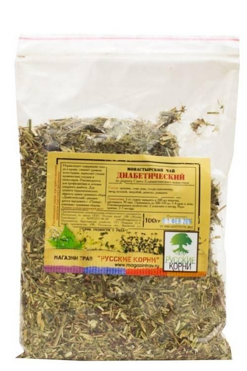Монастырский чай от диабета - диабетический чай, состав для диабетиков