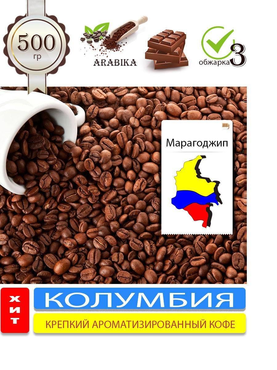Кофе марагоджип: описание сорта, виды, особенности
