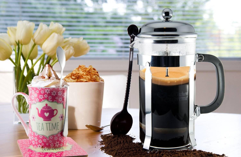 Френч пресс для чая и кофе: рецепты и отзывы