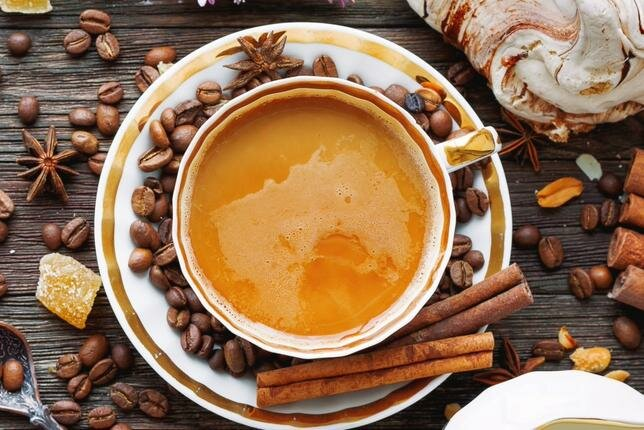 Как приготовить кофе с корицей в домашних условиях