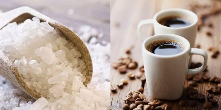 Кофе с солью: рецепт, польза и вред, зачем добавляют соль