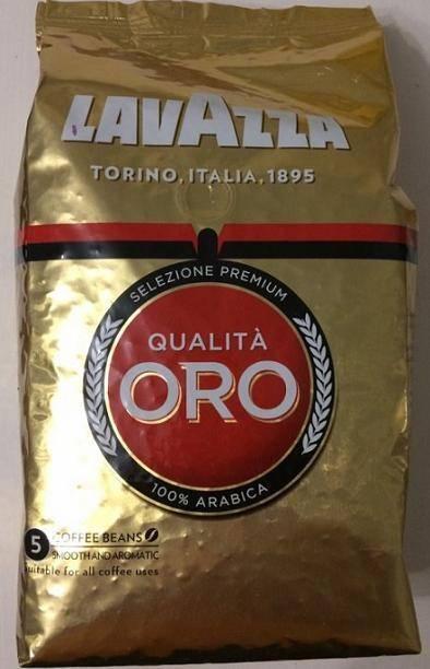 Кофе в зернах lavazza qualita oro 1кг