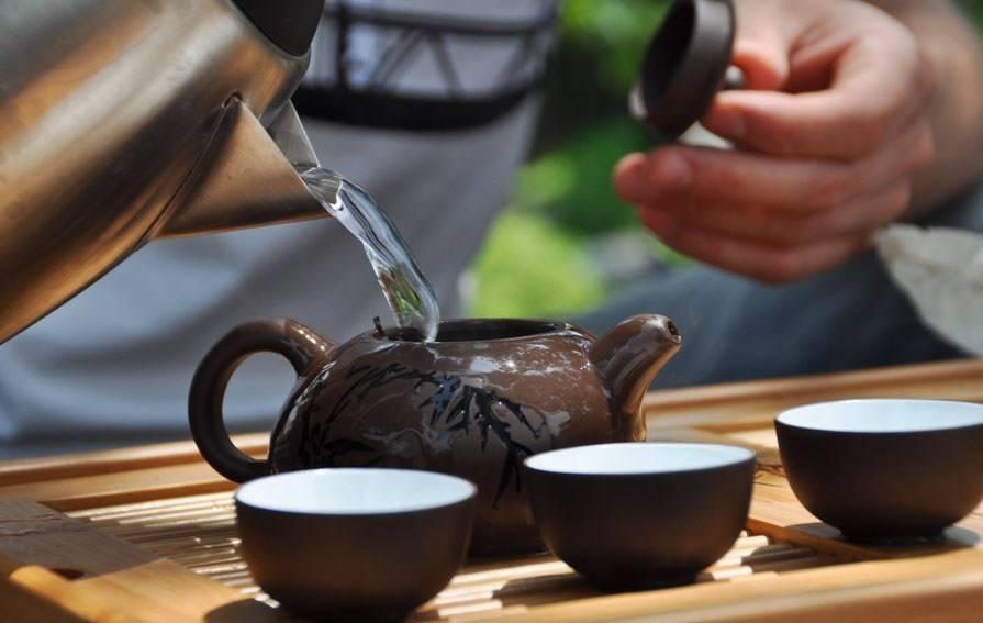 Китайский чай шен пуэр (зеленый пуэр)