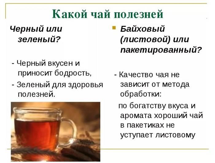 Можно ли пить горячий чай