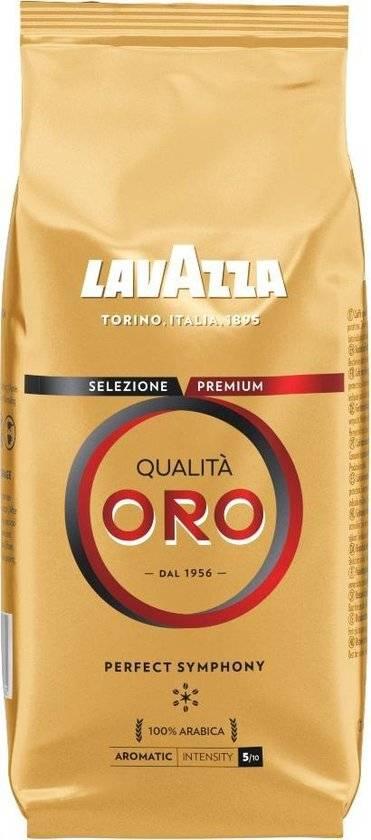 Кофе в зернах lavazza qualita oro rus 1 кг