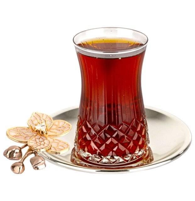 Армуды - турецкие стеклянные стаканы для чая