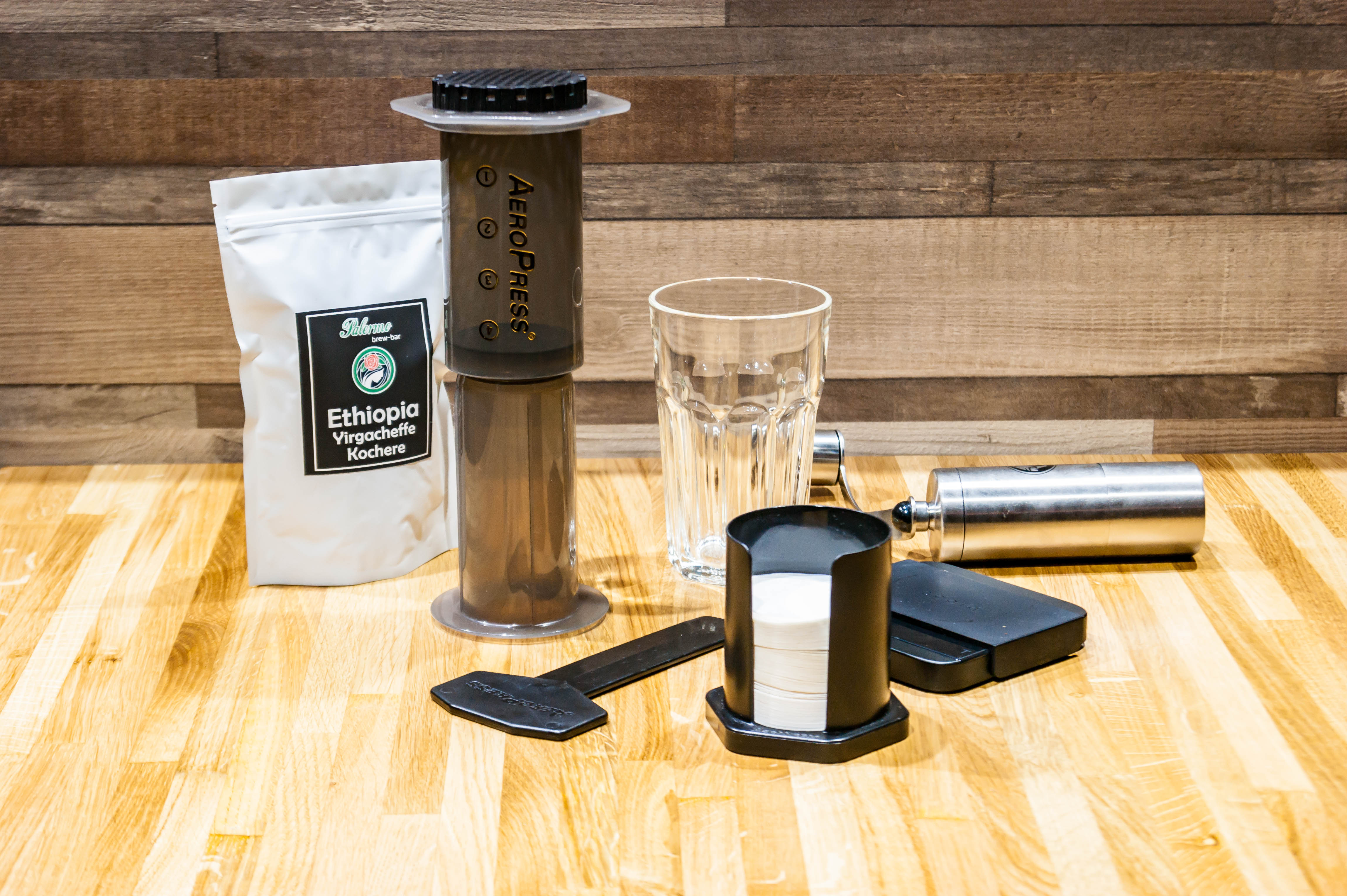 Аэропресс для заваривания кофе