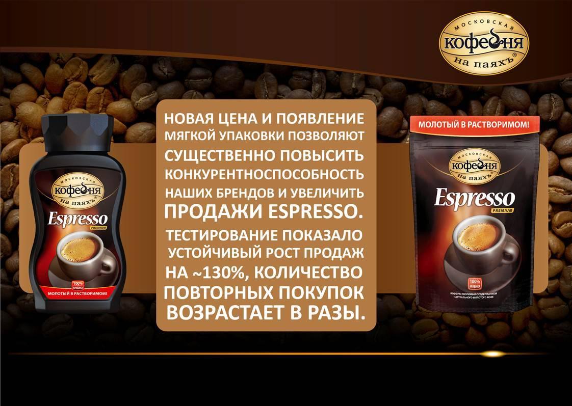 Кофе московская кофейня на паяхъ - о бренде, ассортименте, ценах, отзывах
