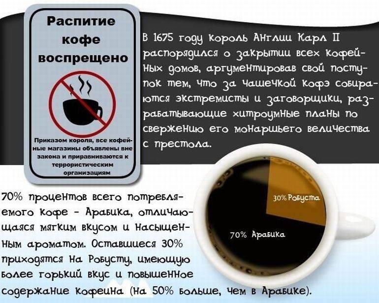 35 интересных фактов о кофе