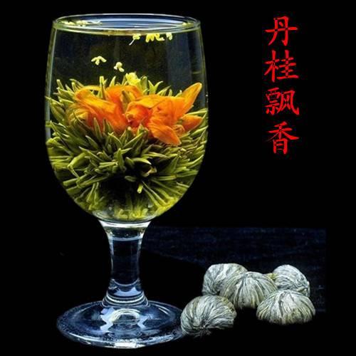 Связанный чай - распускающийся цветок: как заваривать, полезные свойства