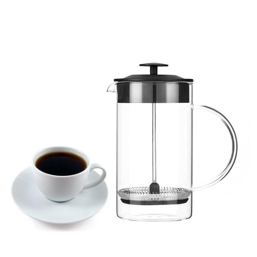 Как заваривать кофе в френч-прессе: устройство, способы заваривания. как сделать капучино с пенкой