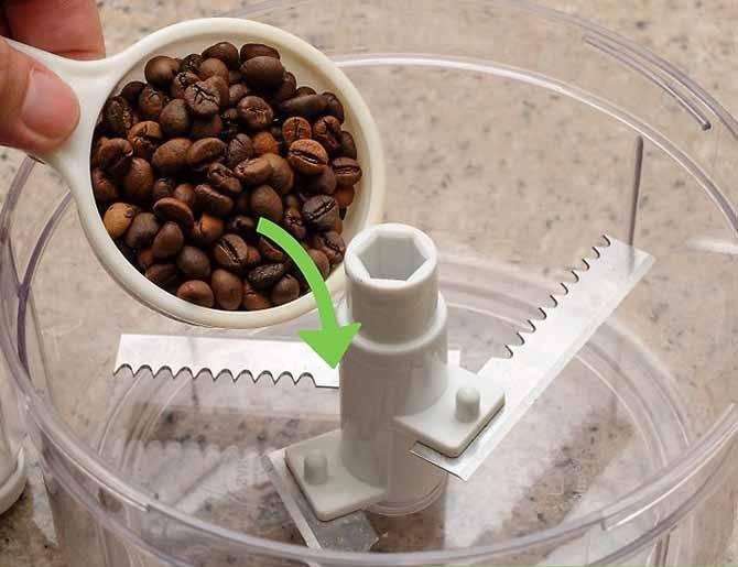 Как использовать блендер вместо кофемолки