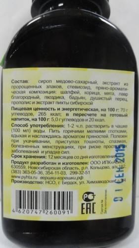 Сбитень пихтовый - пошаговый рецепт приготовления с фото