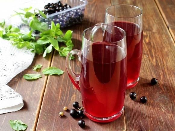 Морс из замороженной красной смородины - вкусные рецепты от receptpizza.ru
