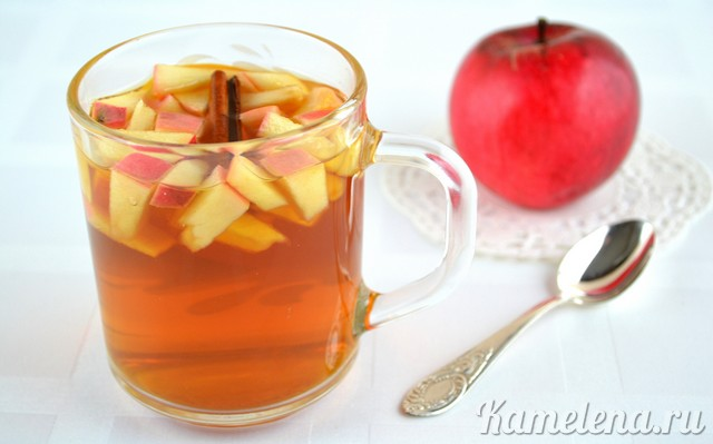 Яблочный чай: полезные свойства, рецепты приготовления