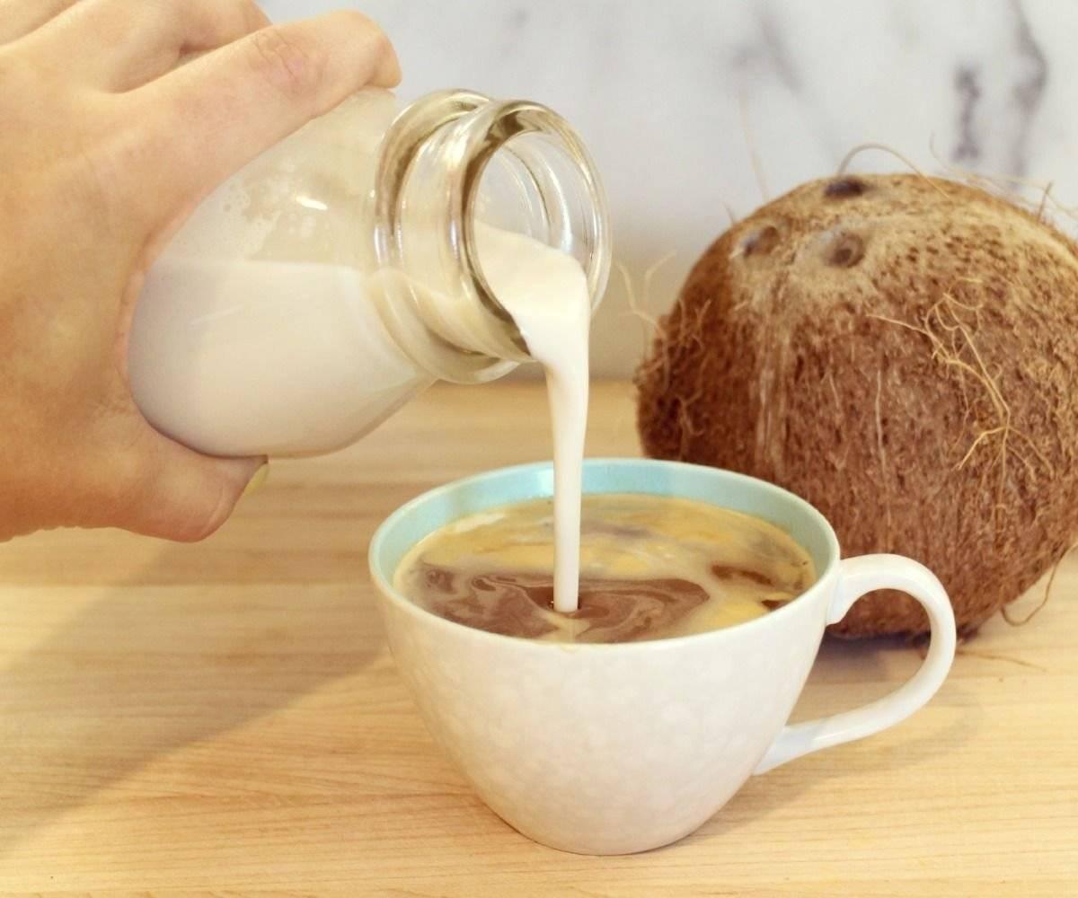 Кофе и кокосовое молоко – торжество вкуса