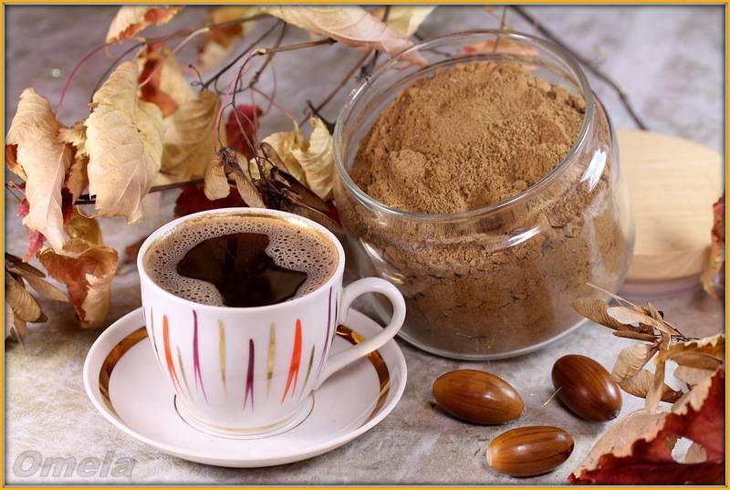 Кофе из желудей: полезные свойства и вред | польза и вред