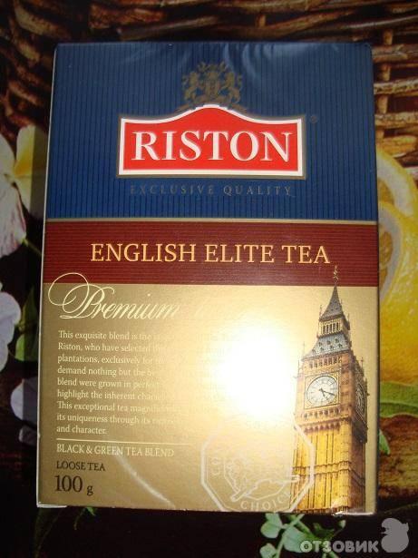 Чай ристон: ассортимент riston, отзывы, фото