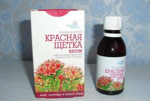 Чай с красной щеткой для женщин