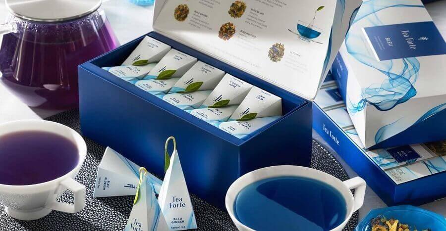 Похудение при помощи синего чая