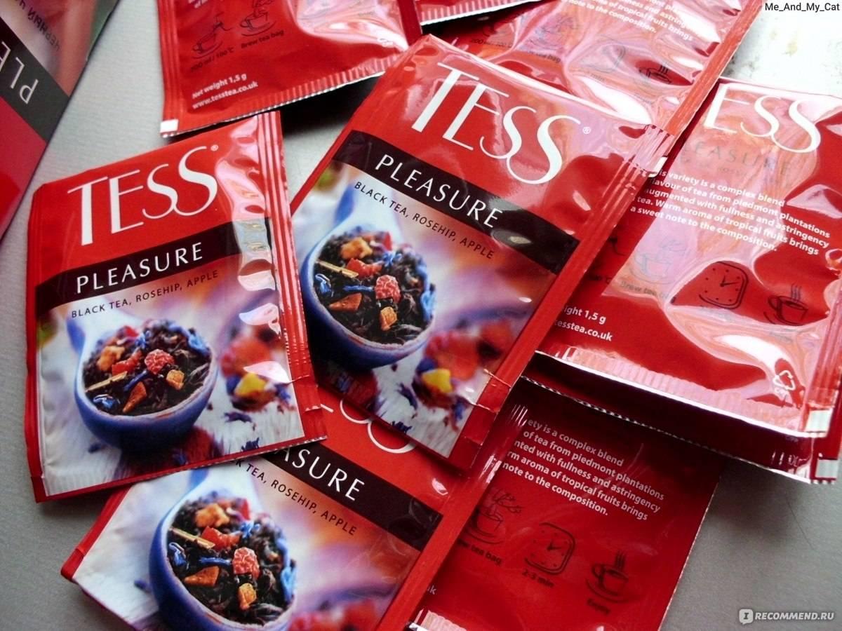 Тесс чай: ассортимент компании