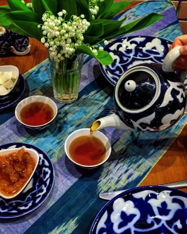 Узбекский зеленый чай no95: что за напиток и как его пьют