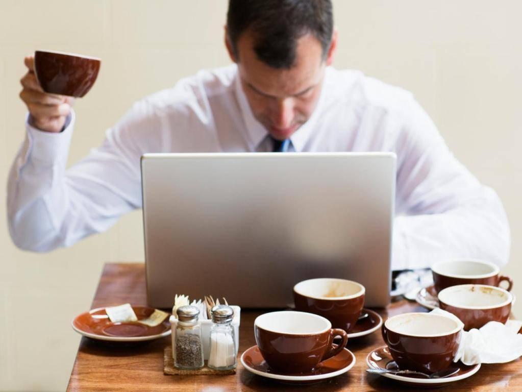 Как проявляется передозировка кофе