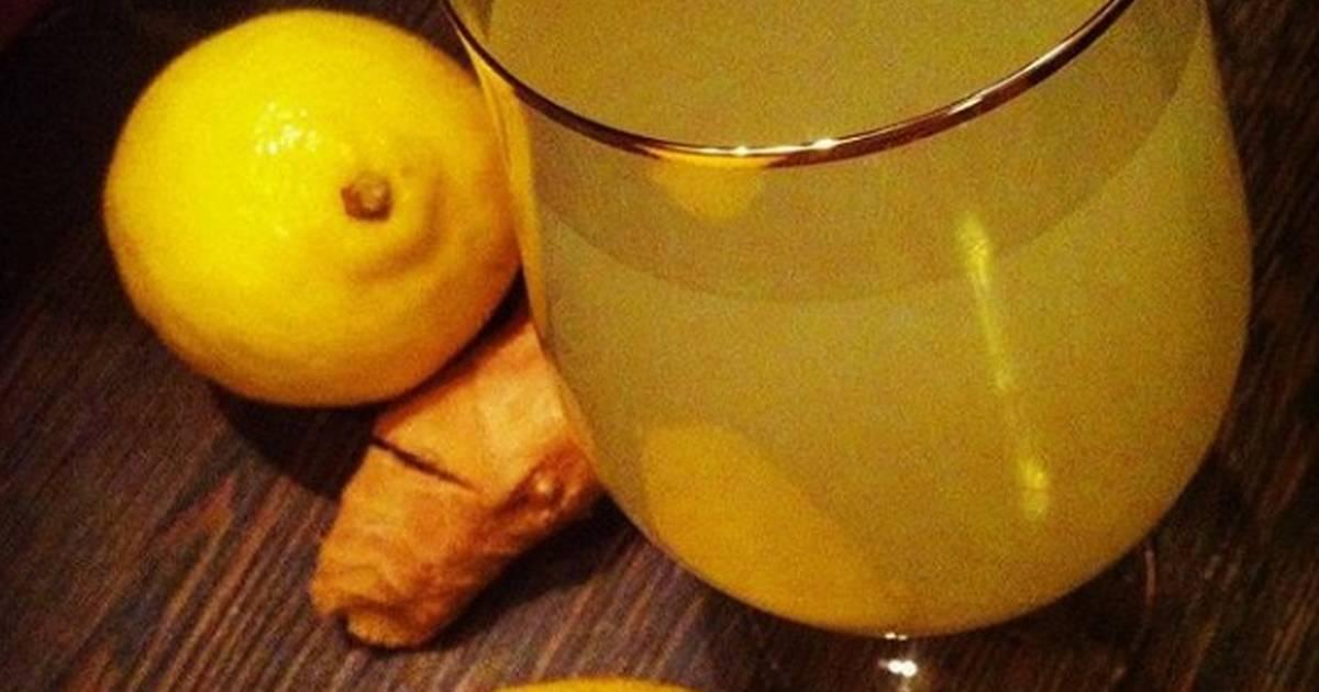 Ферментированный имбирь для домашнего лимонада