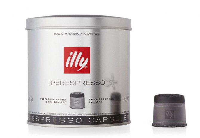Кофе илли (illy): описание, история и виды марки