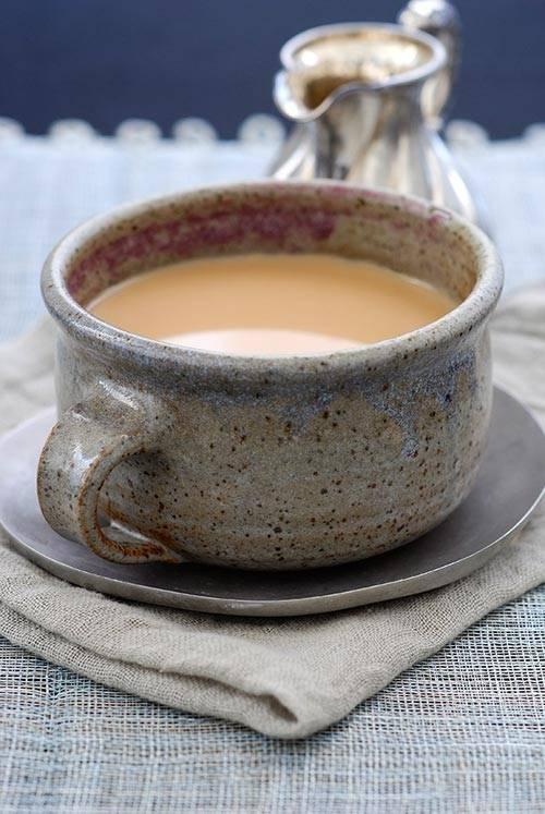 Рецепты татарского чая с молоком или маслом