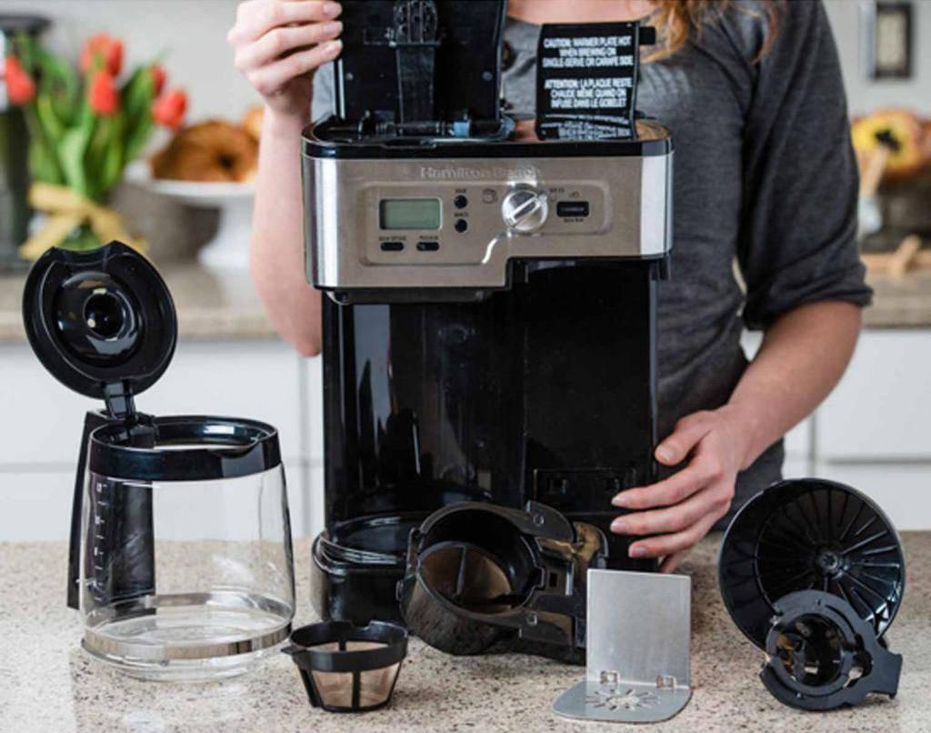 Очистка кофемашины от накипи, кофейных масел - инструкция