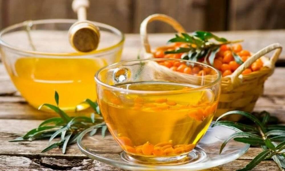 Как приготовить облепиховый чай по рецепту с фото и видео